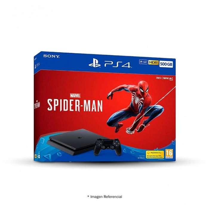 PS4 EDICION SPIDERMAN DE 500GB NUEVO