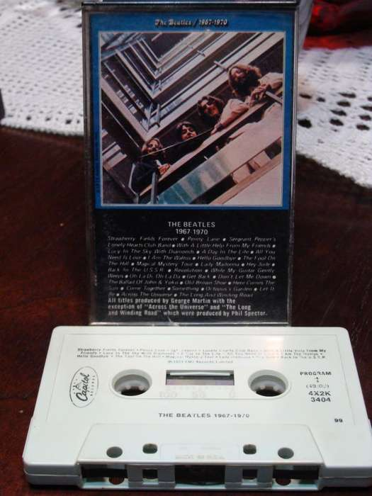 The Beatles - 1967-1970 - Cassette USA