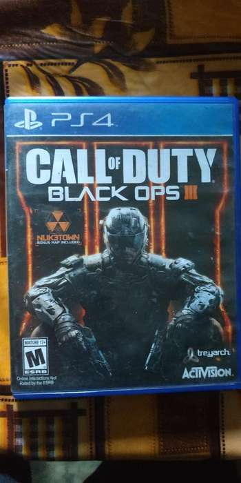 Vendo Call Of Duty Black Ops 3