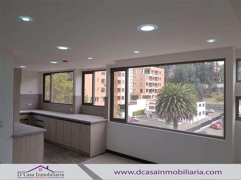 Arriendo Departamento en Ordóñez lasso, 2 dormitorios, 1 garaje.