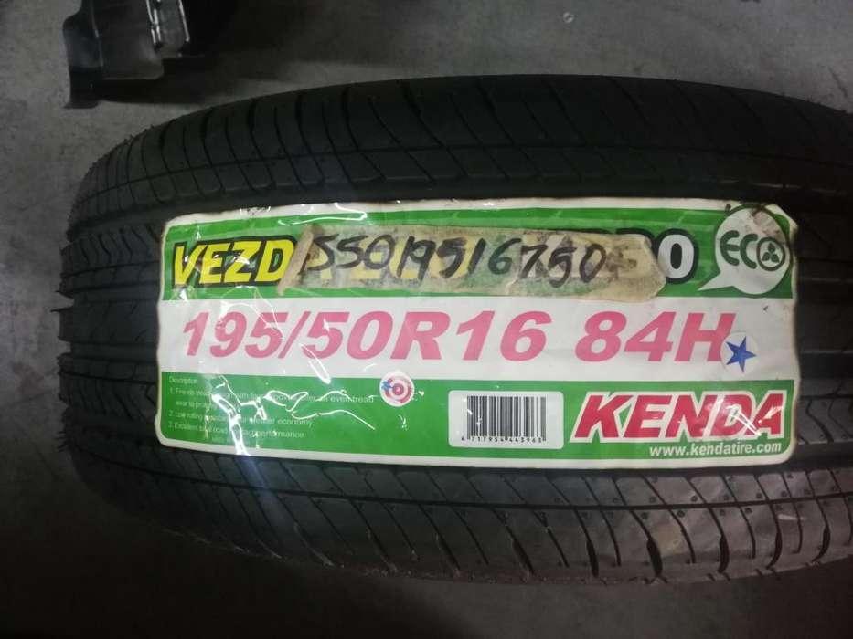 LLANTA 195 50 R16 KENDA