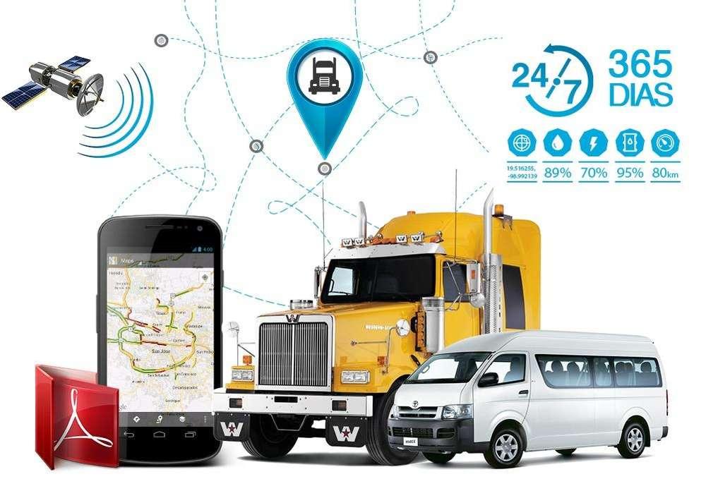 Sistema De Gps Tracker Para Auto motos camiones, flotas