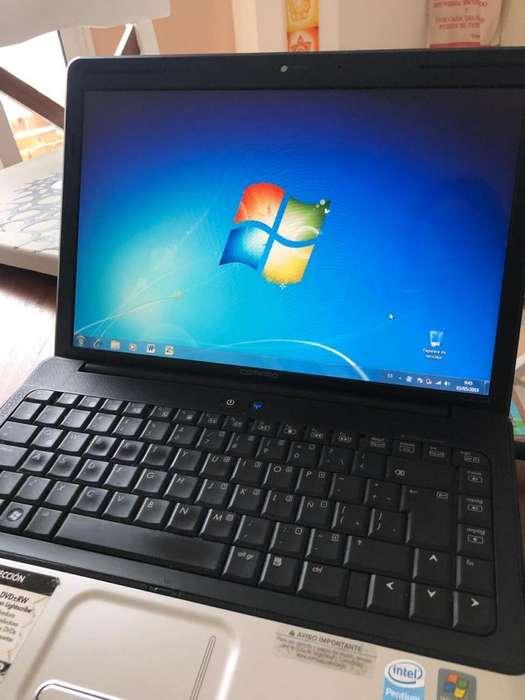 NOTEBOOK Compac Presario con Windows 7.