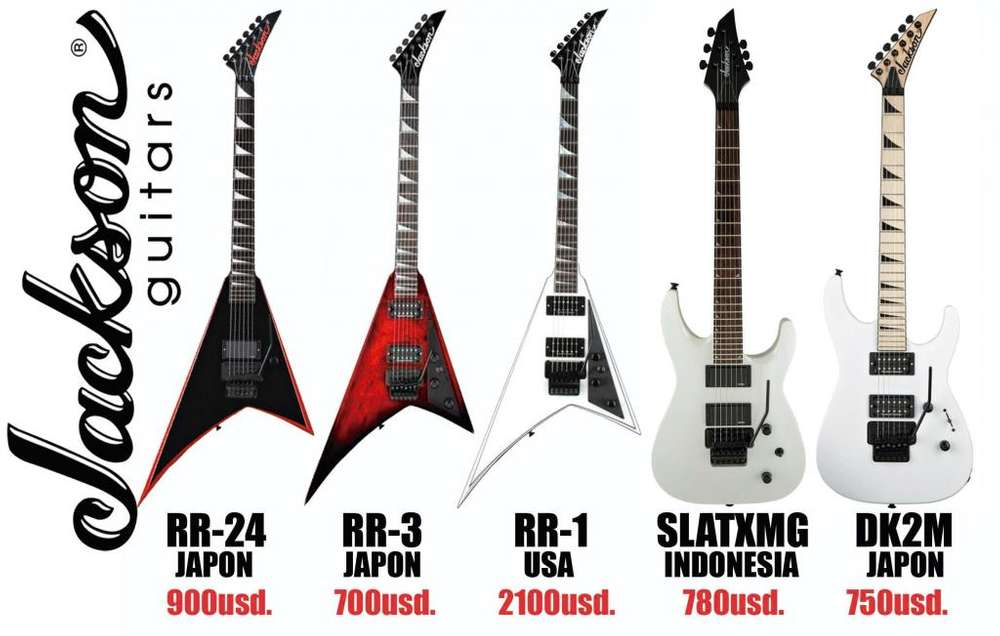 Guitarras electricas Jackson
