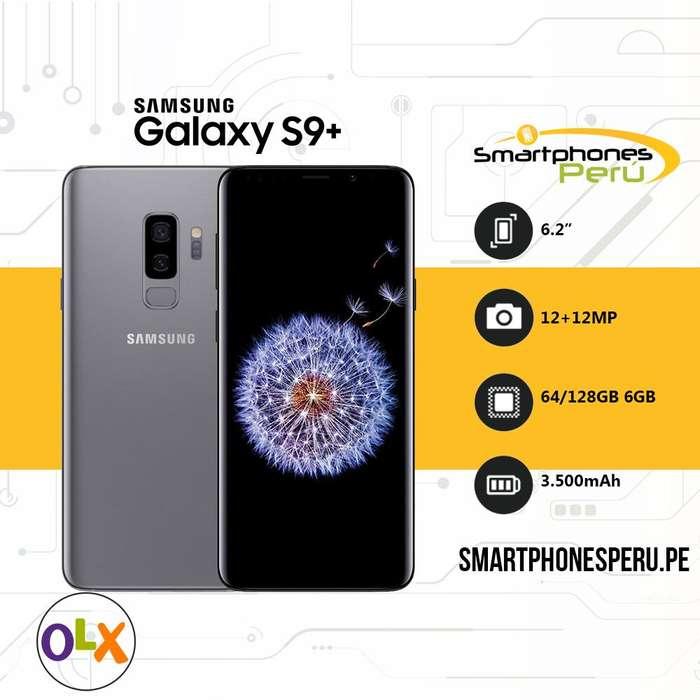 Celular Samsung Galaxy S9 Plus 64GB • EL Mejor Equipo de Gama Alta • Smartphonesperu.pe