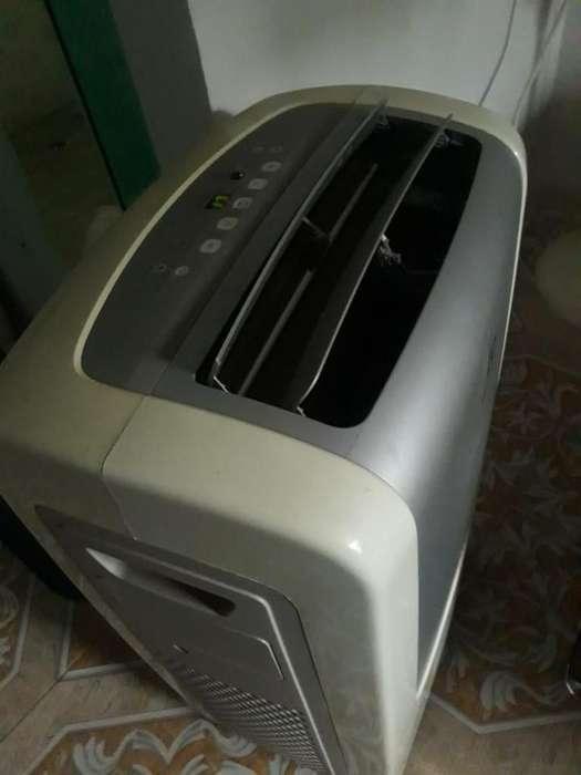 Aire acondicionado portatil Electrolux 12000btu exelente estado 110v enfria full