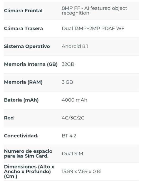 Huawei Y7 2019 Perfecto Estado