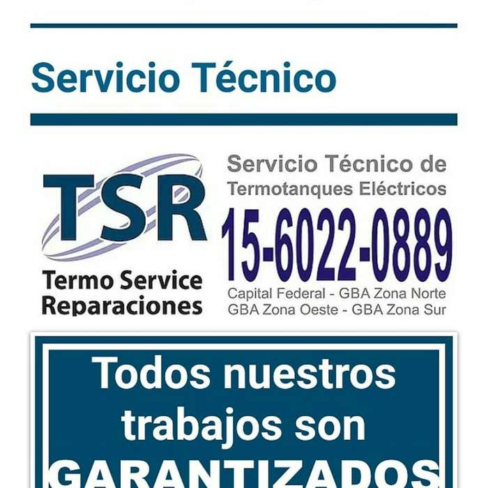 Olivos Service Termotanques Garantía Escrita 1160220889