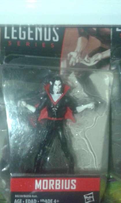 Marvel Universe Morbius Spiderman no legends