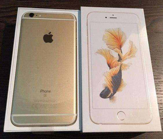 vendo iphone 6s plus dorado