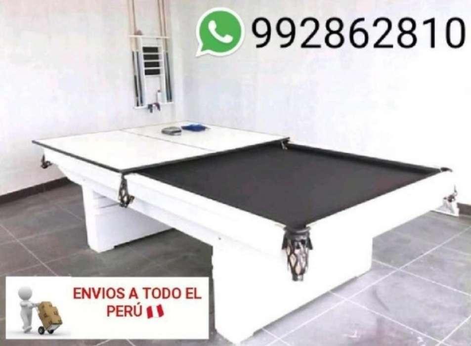 Mesa de Billar Convertible a Ping Pong