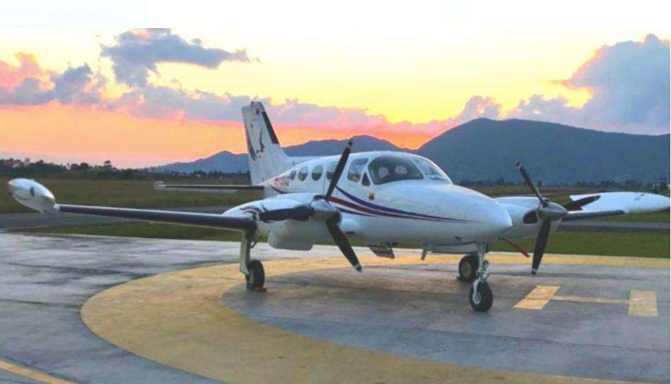 cessna 421A modelo 1968 motores 375 hp 10 horas continental turbo charged