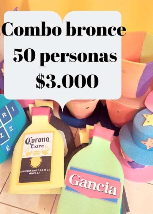 Cotillon Carioca Goma Espuma. 3876197321