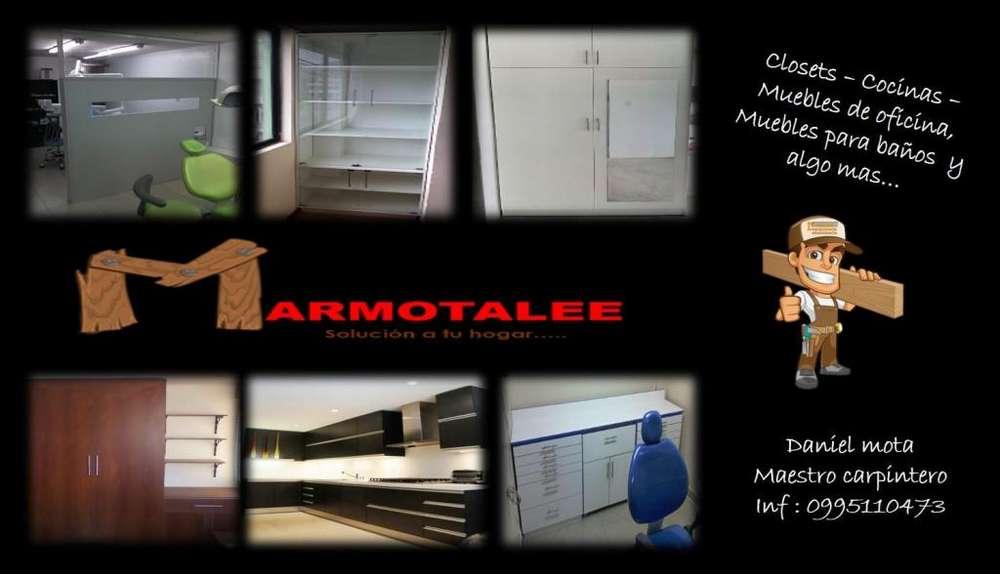 Diseño Y Armado de Muebles Melaminico
