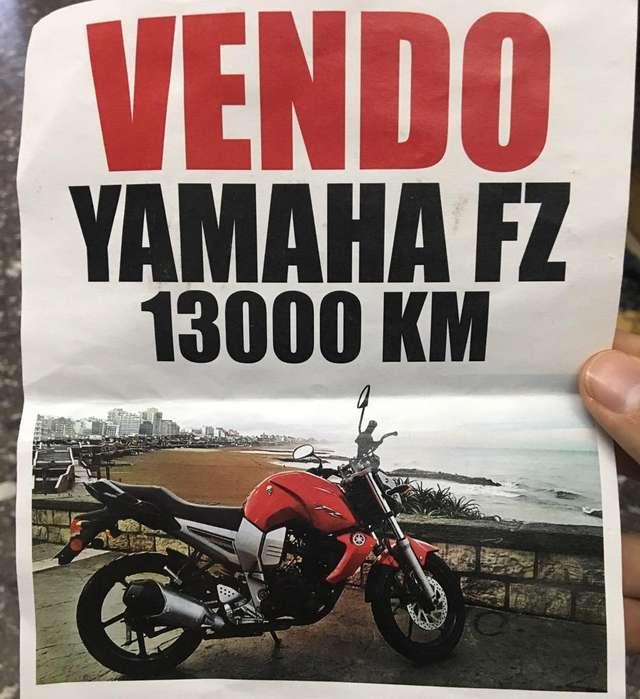 <strong>yamaha</strong> Fz Inmaculada!