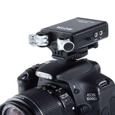 NUEVO !! Micrófono Boya Unidireccional D7100 D7000 D5200 T5i T6i 70d