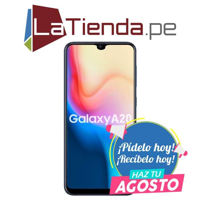 Samsung Galaxy A20 - Variados sensores