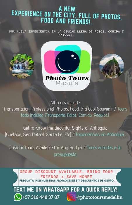 Foto tours en la ciudad : ¡Nos acomodamos a tu presupuesto!