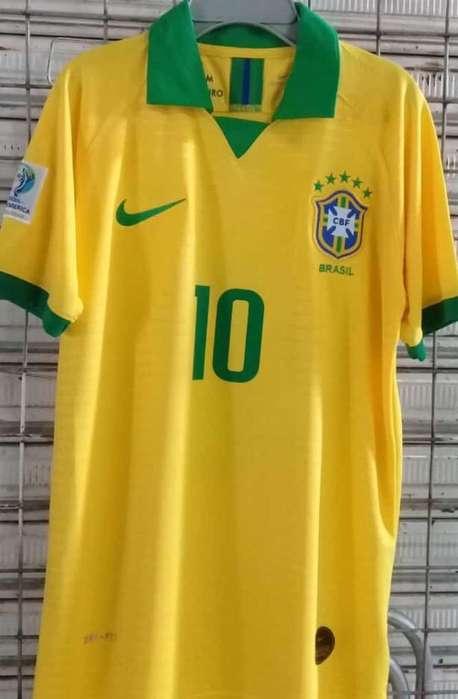 Camiseta Brasil Nueva