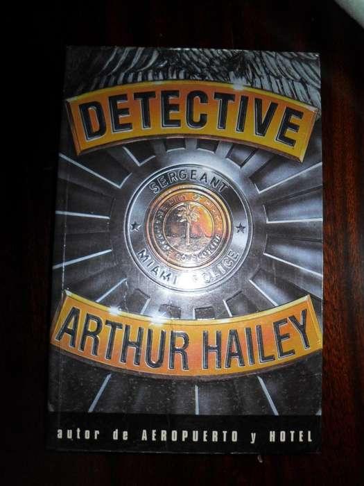 DETECTIVE ARTHUR HAILEY 446 PAGINAS EDICIONES ATLANTIDA