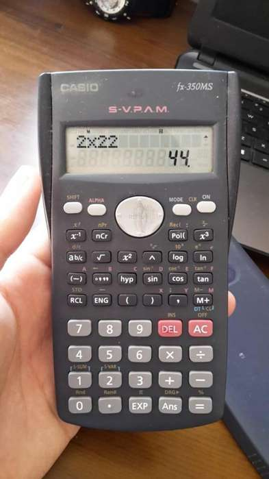 <strong>calculadora</strong> CASIO Fx-350ms , La vieja confiable