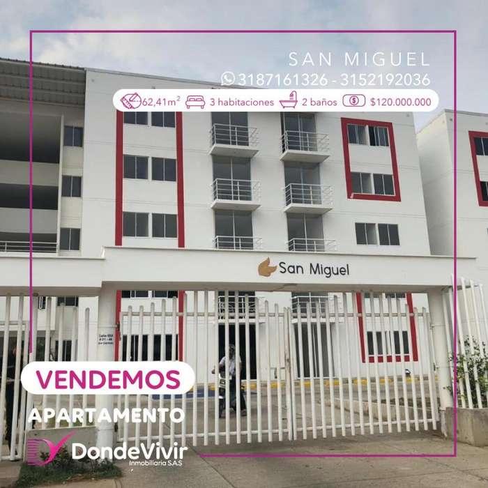 <strong>apartamento</strong> Conj. San Miguel. Venta