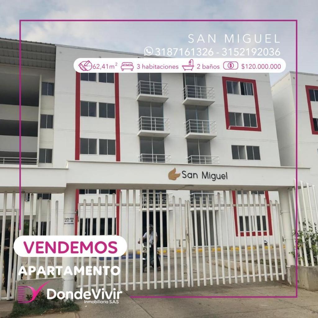 Apartamento Conj. San Miguel. Venta