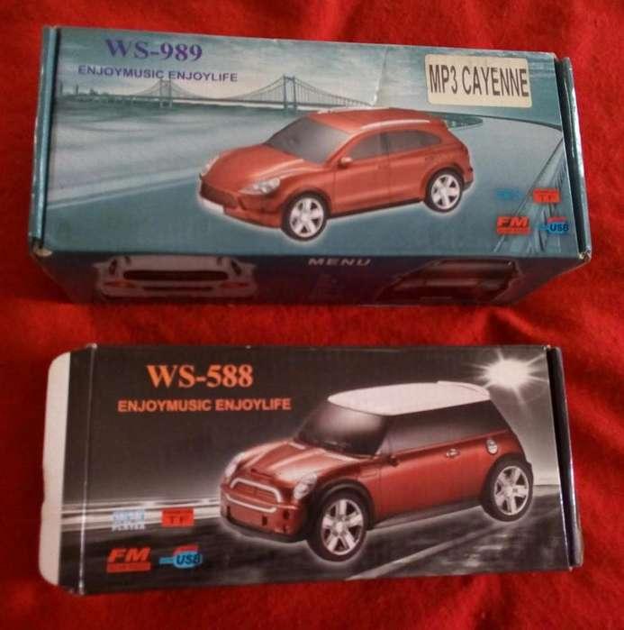 Vendo Reproductores de audio portátil Car Speaker modelos WS588 y WS989
