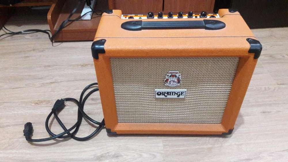Vendo Amplificador de guitarra Orange Crush 20w