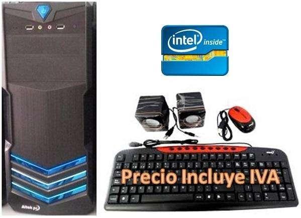 Computador Cpu Dual Core Nueva Generacion 2tb 4gb Memor , I3 i5 i7 PRECIO INCLUYE IVA ENTREGA A DOMICILIO