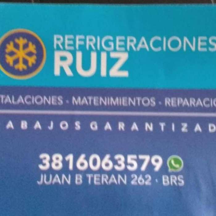Técnico en Refrigeración de Aires Acondi