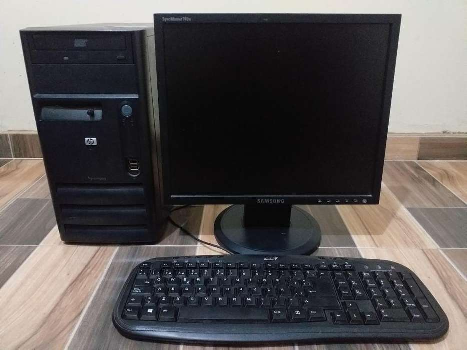 Vendo Computador Hewlett Packard 190.000 NEGOCIABLE