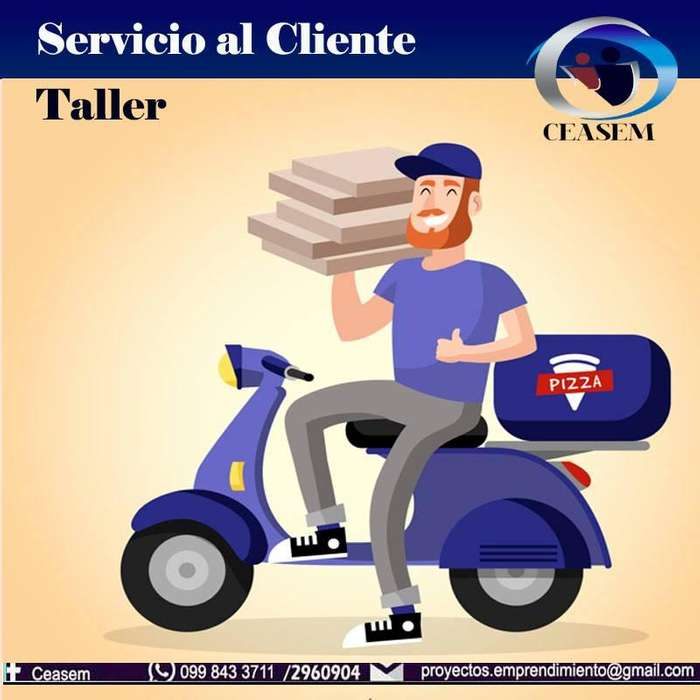 CURSO/TALLER/<strong>seminario</strong> DE SERVICIO AL CLIENTE PARA SECTOR GASTRONÓMICO