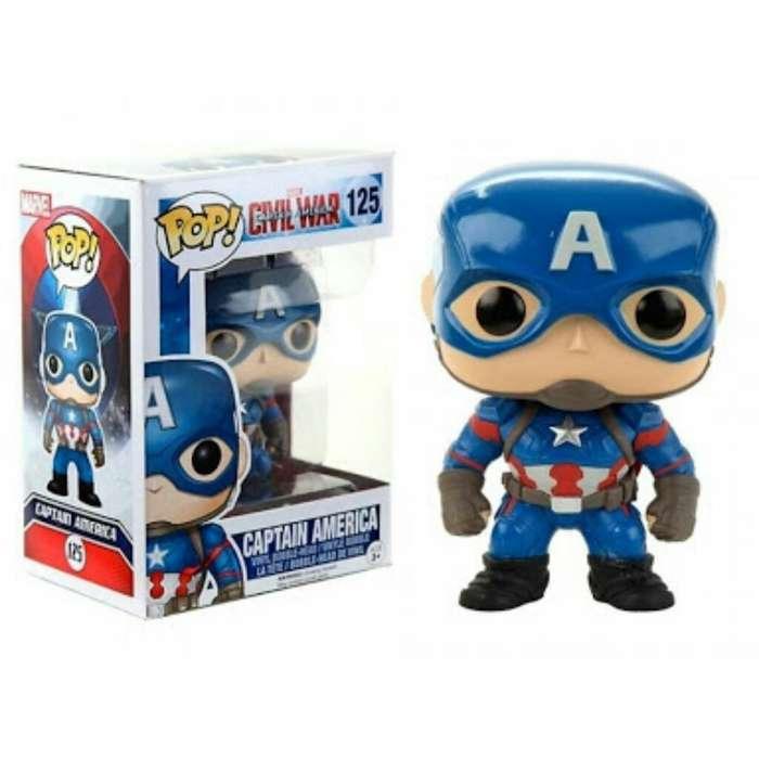 Funko Pop Capitán América Nuevo Original