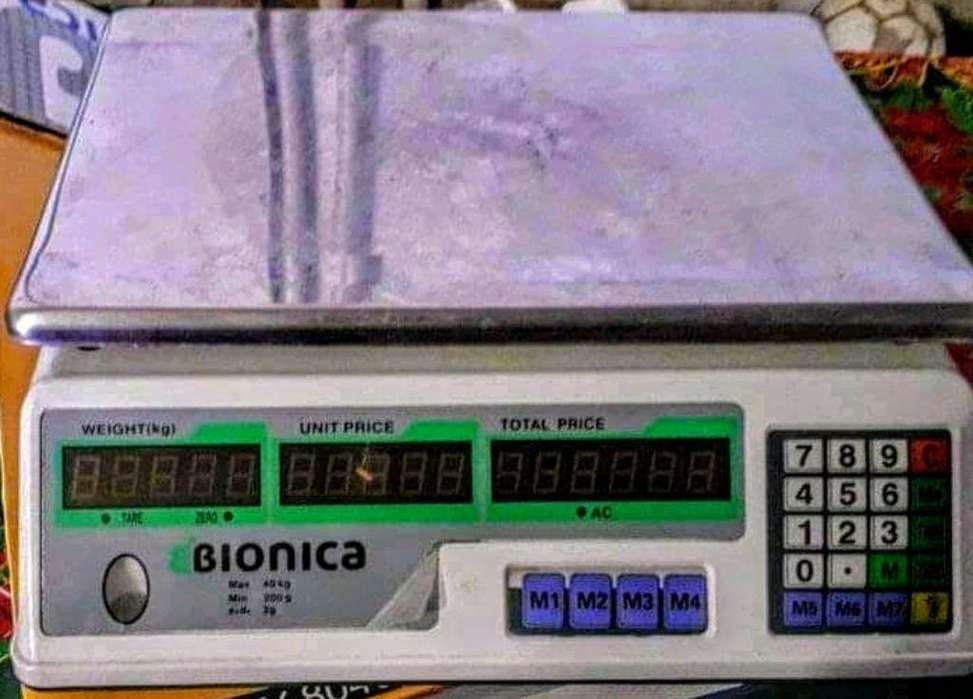 Vendo Balanza Electrica