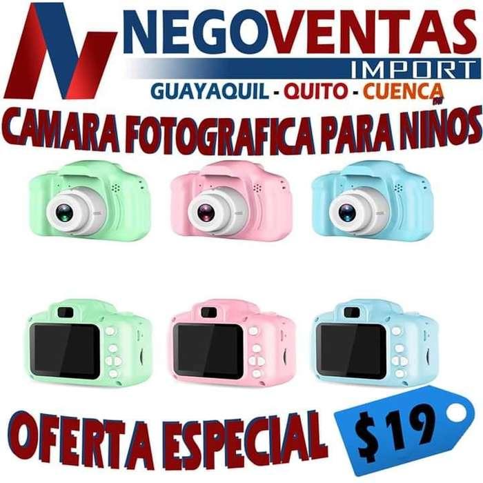 CÁMARA FOTOGRÁFICA PARA NIÑOS PRECIO OFERTA 19