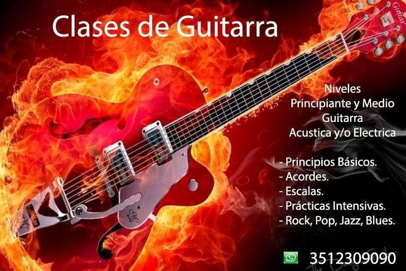 Clases de Guitarra Eléctrica y/o Acústica