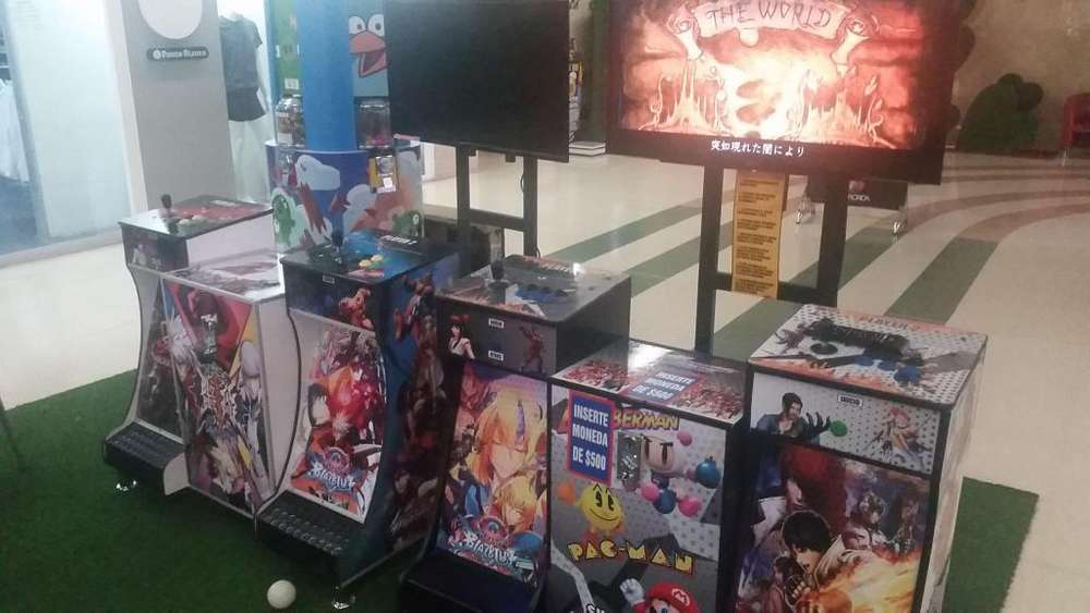 Modulo Doble Arcade Full Hd