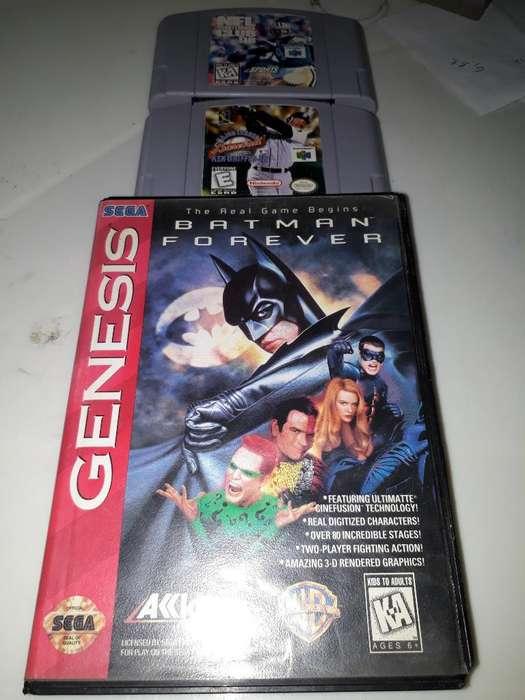 Juego de Sega Genesis Y Nintendo 64