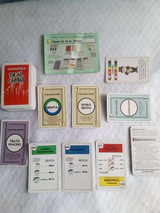 Monopoly Deal Cartas