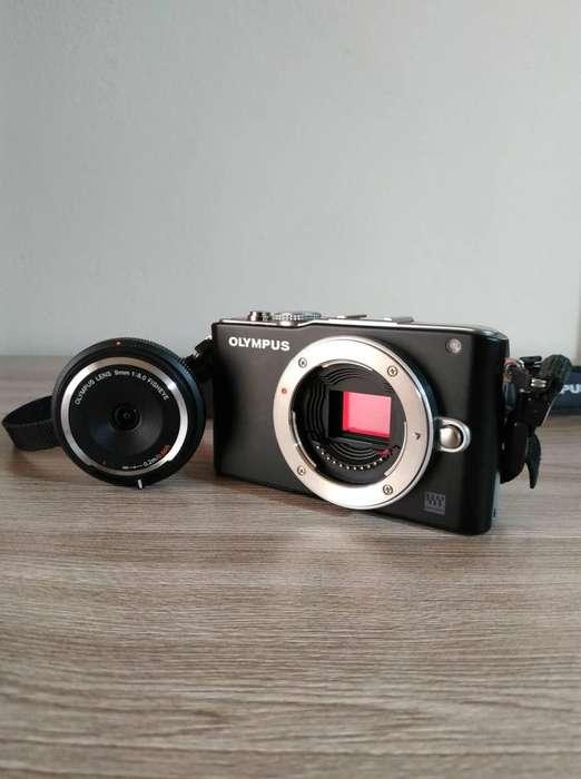 Camara Olympus Full HD 1980x1080p Lentes intercambianles