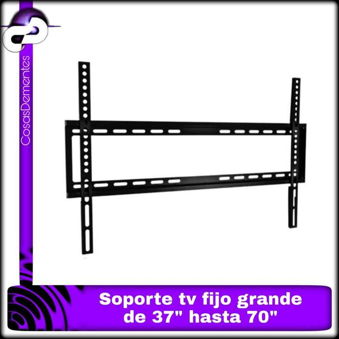 "SOPORTE GRANDE TV LED FIJO DE 37"" HASTA 70"""