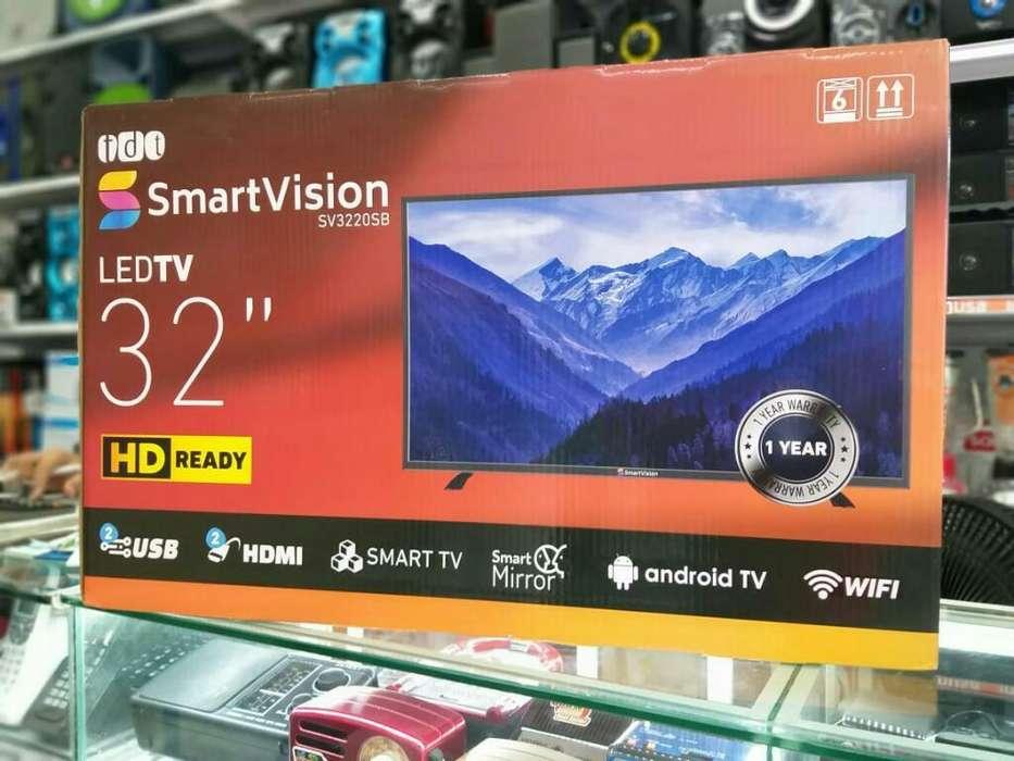 <strong>televisor</strong>es Smartv 32 Pulgadas