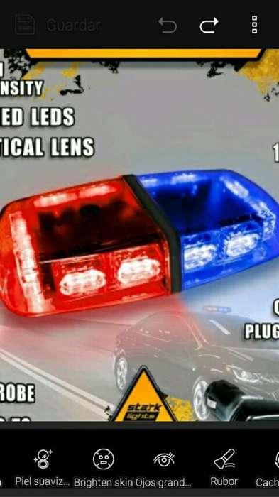 Luces Emergencia Ambulancias Policia Gru