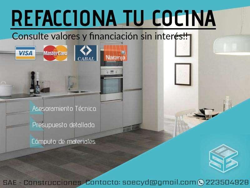 SAE Refacción construcción cocina tarjeta de crédito