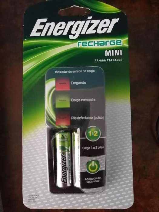 Cargador de <strong>pila</strong>s Energizer