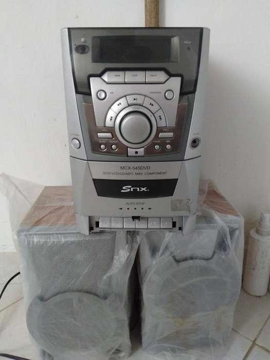 Mini Componente Mp3,dvd,radio.