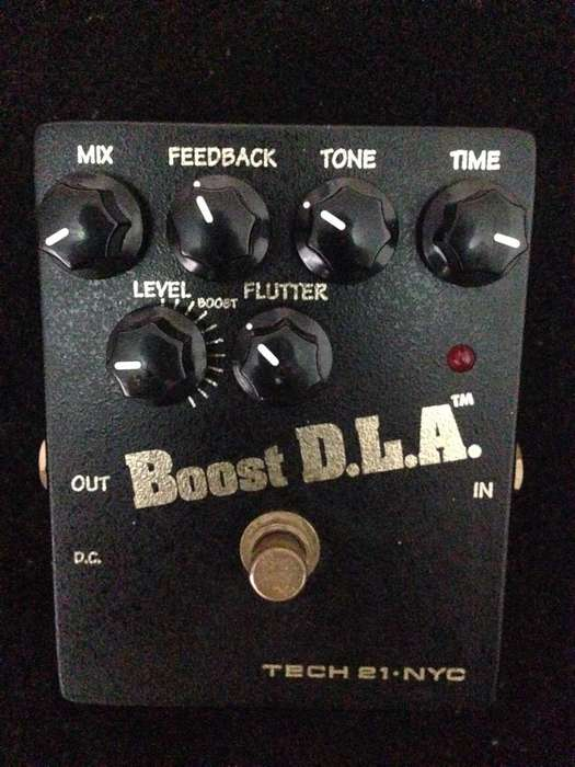 Pedal de Guitarra Delay Tech 21