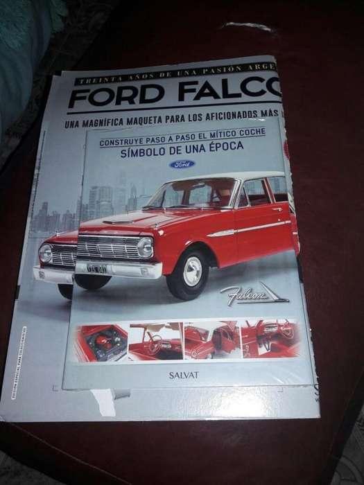 Ford Falcon 1.8. Salvat. Colección Completa.