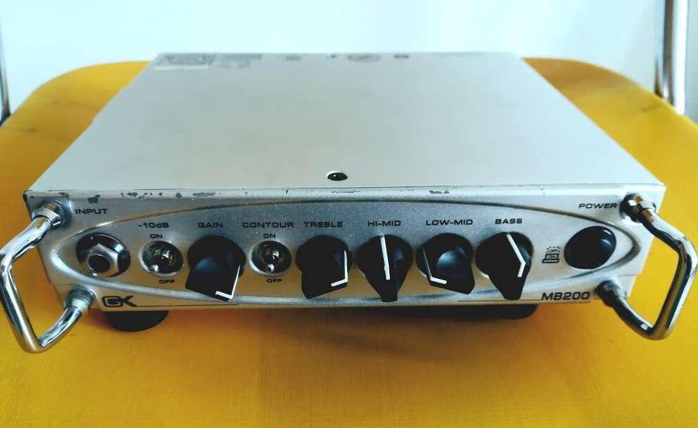 Amplificador para bajo Gk de 200w